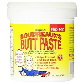 Boudreaux's, Original Butt Paste, Diaper Rash Ointment, 16 oz (454 g)