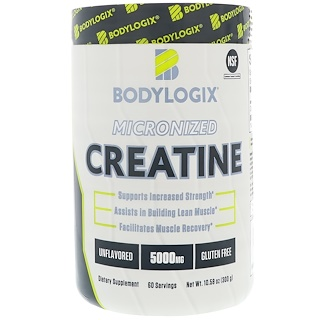 Bodylogix, Micronized Creatine, Unflavored, 10.58 oz (300 g)
