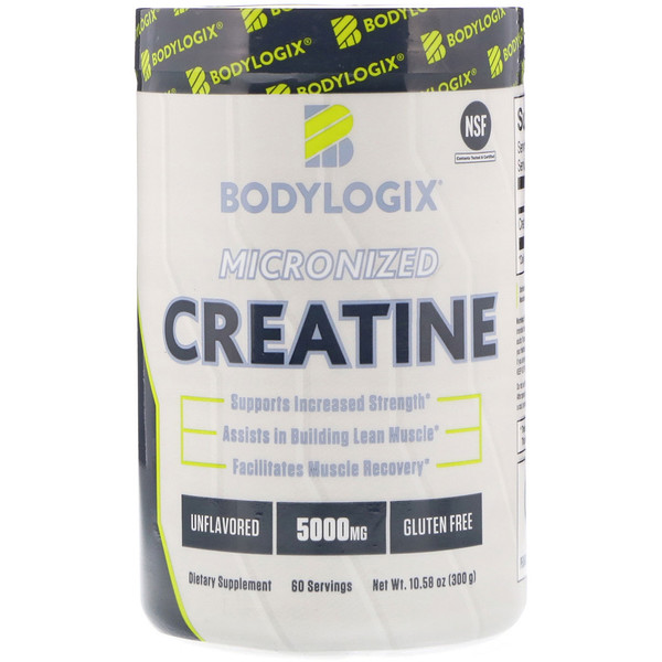 Bodylogix, Micronized Creatine, Unflavored, 5,000 mg, 10.58 oz (300 g)