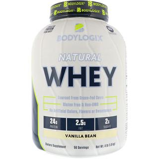 Bodylogix, Natural Whey, Vanilla Bean, 4 lbs (1.8 kg)