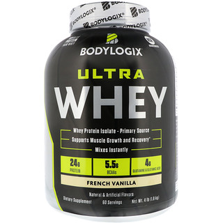 Bodylogix, Ultra Whey, French Vanilla, 4 lb (1.8 kg)