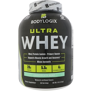 Bodylogix, Ultra Whey, Chocolate Mint, 4 lb (1.8 kg)