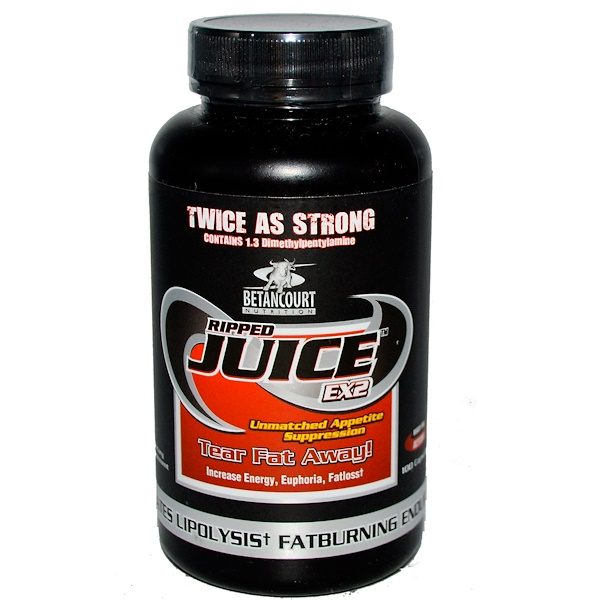 Betancourt, Nutrition, Ripped Juice EX2, 100 Capsules (Discontinued Item)