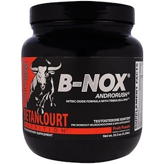 Betancourt, B-Nox Androrush, Fruit Punch, 22.3 oz (1.3 lbs)