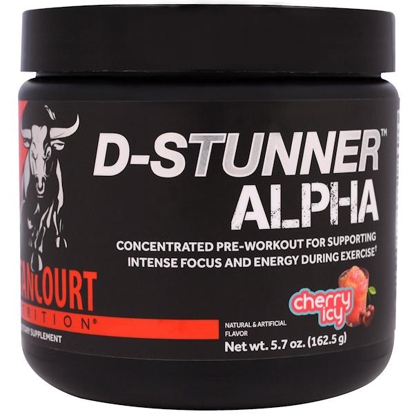 Betancourt, D-Stunner Alpha, Cherry Icy, 5、7 oz (162、5 g)
