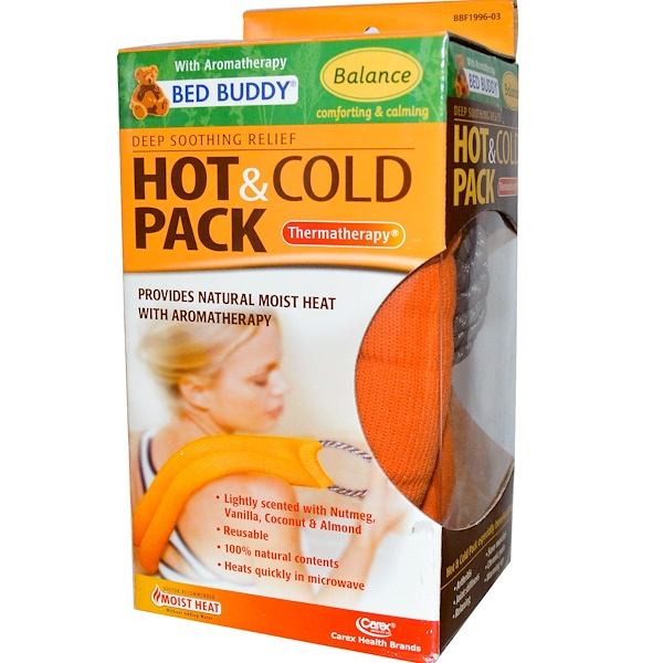 Bed Buddy, Deep Soothing Relief Hot & Cold Pack with Aromatherapy, Balance, 1 Pack (Discontinued Item)