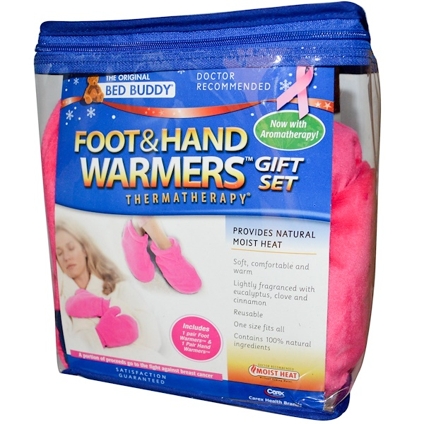 Bed Buddy, Thermatherapy, Foot & Hand Warmers with Aromatherapy, 1 Gift Set (Discontinued Item)