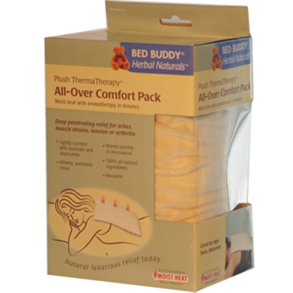 Bed Buddy, Herbal Naturals, Plush ThermaTherapy, All-Over Comfort Pack (Discontinued Item)