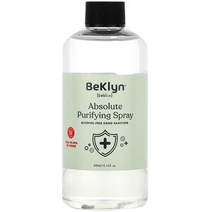 BeKLYN, Absolute Purifying Spray, Alcohol-Free Hand Sanitizer, 10.14 fl oz (300 ml)