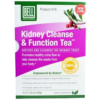 Bell Lifestyle, Kidney Cleanse & Function Tea, 4.2 oz (120 g)