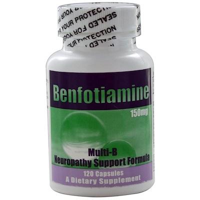 Купить Нейропатическая поддерживающая формула Multi-B, 150 мг, 120 капсул