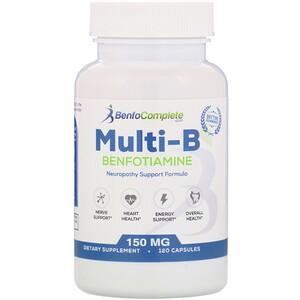 Бенфотиамин Инк, Multi-B Benfotiamine Neuropathy Support Formula, 150 mg, 120 Capsules отзывы покупателей
