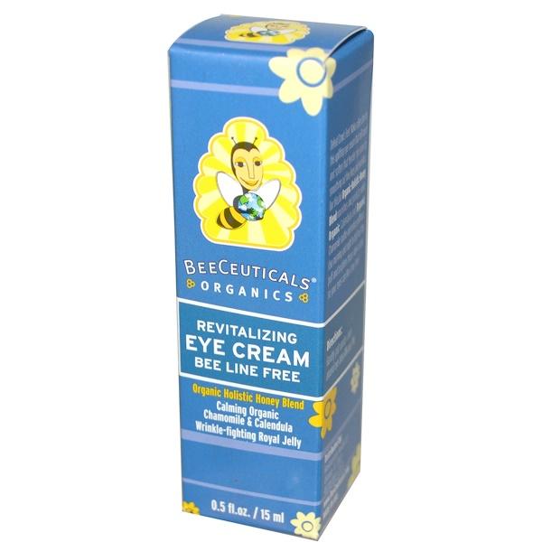 BeeCeuticals Organics, Revitalizing, Eye Cream, 0.5 fl oz (15 ml) (Discontinued Item)
