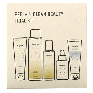 Beplain, Clean Beauty Trial Kit, 5 Piece Kit