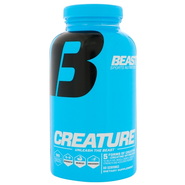 Beast Sports Nutrition, Creature, 180 Vegetable Capsules (Discontinued Item)