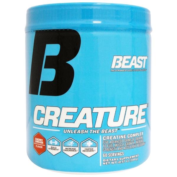 Beast Sports Nutrition, 運動營養健身增肌粉,櫻桃萊姆汁,10、57盎司(300克)