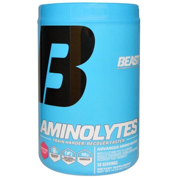 Beast Sports Nutrition, 鍛煉補充-支鏈氨基酸,西瓜,14、65盎司(416克)