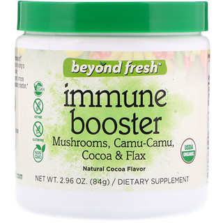 Beyond Fresh, Immunity Booster, Natural Cocoa Flavor, 2.96 oz (84 g)