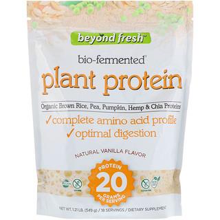 Beyond Fresh, Plant Protein, Natural Vanilla Flavor, 1.21 lb (549 g)