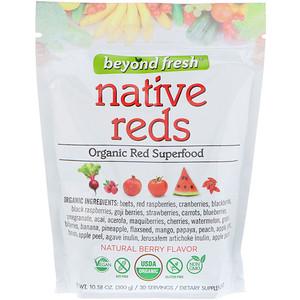 Beyond Fresh, Native Reds, Organic Red Superfood, Natural Berry Flavor, 10.58 oz (300 g) отзывы