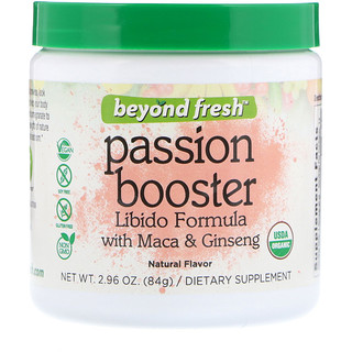 Beyond Fresh, Passion Booster, Libido Formula with Maca and Ginseng, Natural Flavor, 2.96 oz (84 g)