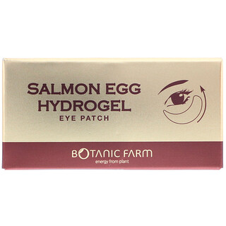 Botanic Farm, Salmon Egg Hydrogel Eye Patch, 90 g