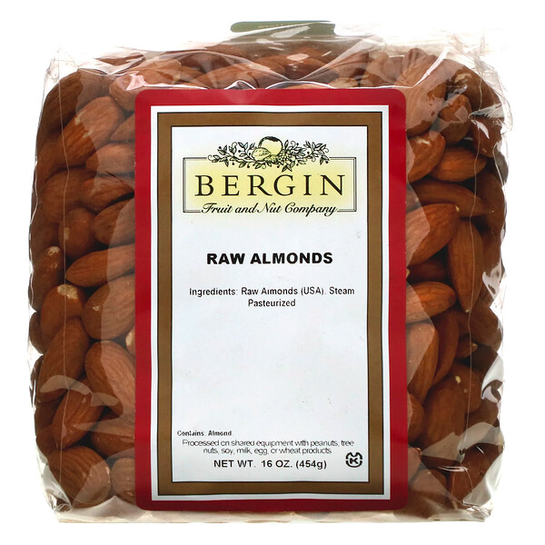 Raw Almonds, 16 oz (454 g)