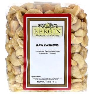 Bergin Fruit and Nut Company, 未加工腰果,16 盎司(454 克)