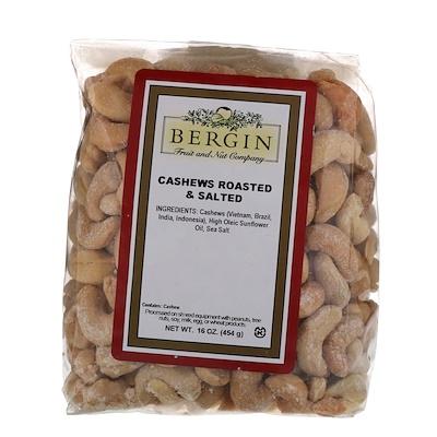 Жареные и соленые орешки кешью, 16 унц. (454 г) цена