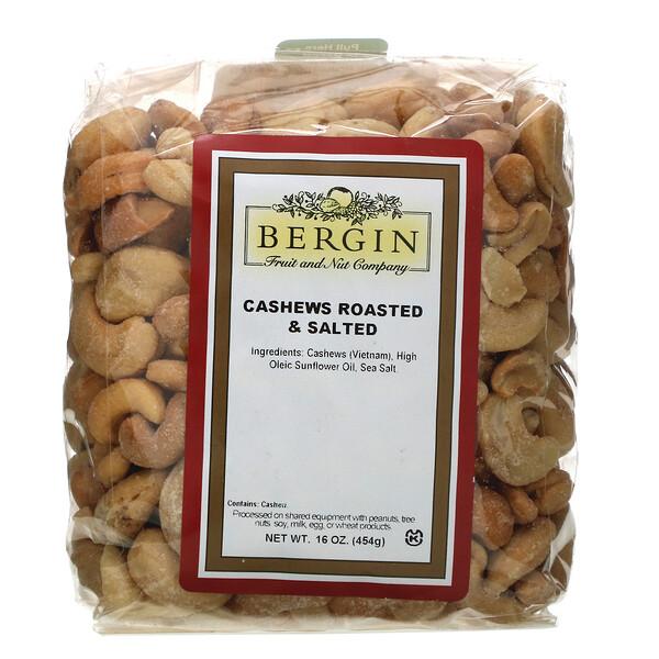 Cashews Roasted & Salted, 16 oz (454 g)