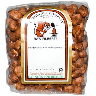 Bergin Fruit and Nut Company, Avellanas crudas, 14 oz (397 g)