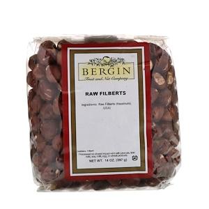 Бергин Фрут и Нат Кампани, Raw Filberts, 14 oz (397 g) отзывы покупателей