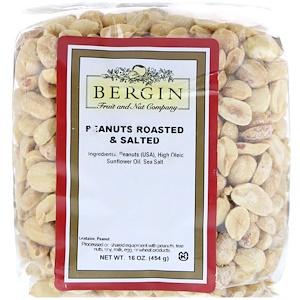 Бергин Фрут и Нат Кампани, Peanuts, Roasted & Salted, 16 oz (454 g) отзывы покупателей