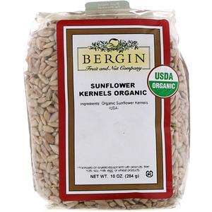Бергин Фрут и Нат Кампани, Organic Sunflower Kernels, 10 oz (284 g) отзывы покупателей