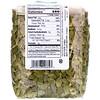 Bergin Fruit and Nut Company, Pepitas crudas orgánicas, 10 oz (284 g)