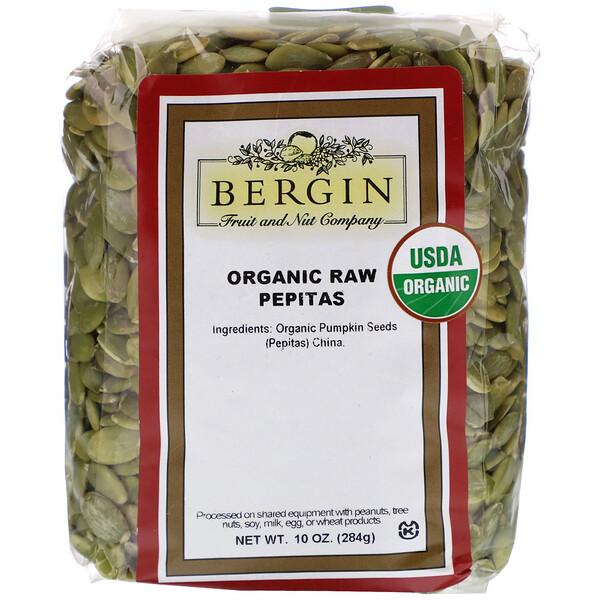 Organic Raw Pepitas, 10 oz (284 g)