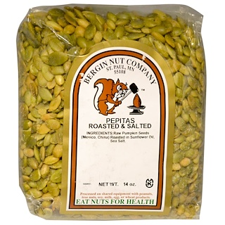 Bergin Fruit and Nut Company, Pepitas Roasted & Salted, 14 oz