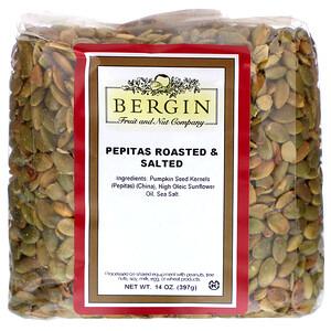 Бергин Фрут и Нат Кампани, Pepitas Roasted & Salted, 14 oz (397 g) отзывы покупателей