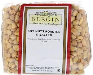 Бергин Фрут и Нат Кампани, Soy Nuts Roasted & Salted, 9 oz (255 g) отзывы покупателей