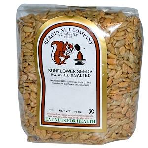 Бергин Фрут и Нат Кампани, Sunflower Nuts, Roasted & Salted, 16 oz (454 g) отзывы