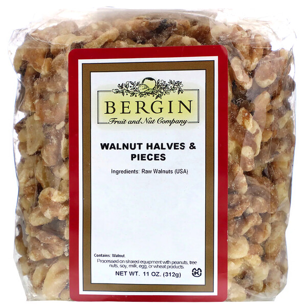 Walnut Halves and Pieces, 11 oz (312 g)