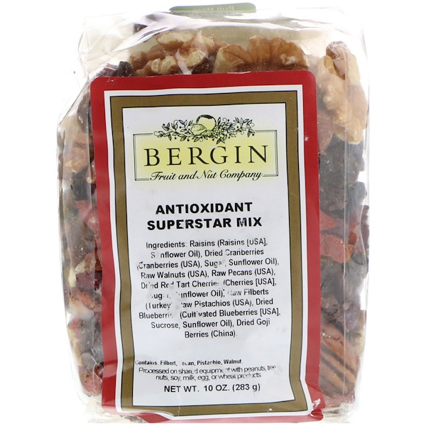 Bergin Fruit and Nut Company, Antioxidant Superstar Mix, 10 oz (Discontinued Item)
