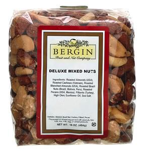 Бергин Фрут и Нат Кампани, Deluxe Mixed Nuts, 16 oz (454 g) отзывы покупателей