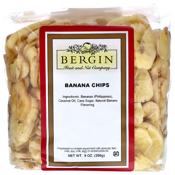Banana Chips, 9 oz (255 g)