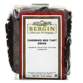 Bergin Fruit and Nut Company, Cherries Red Tart, rote Sauerkirschen, getrocknet, 283g (10oz.)