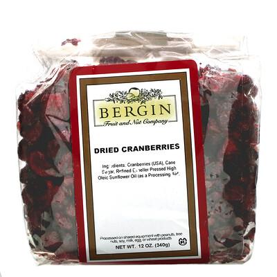 Купить Bergin Fruit and Nut Company Сушеная клюква, 340г (12унций)