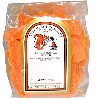Bergin Fruit and Nut Company, Dried Mango Slices, 10 oz
