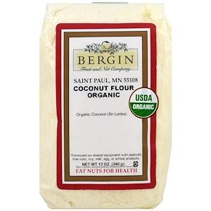 Бергин Фрут и Нат Кампани, Organic Coconut Flour, 12 oz (340 g) отзывы