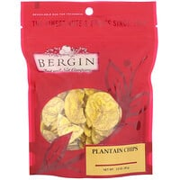 Bergin Fruit and Nut Company, Plantain Chips, 3.5 oz (99 g)