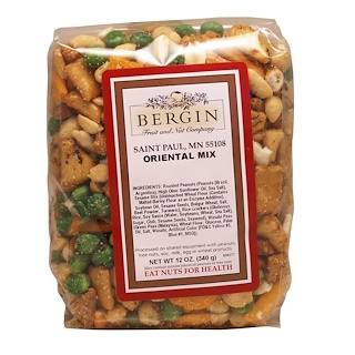 Bergin Fruit and Nut Company, Oriental Mix, 12 oz (340 g)